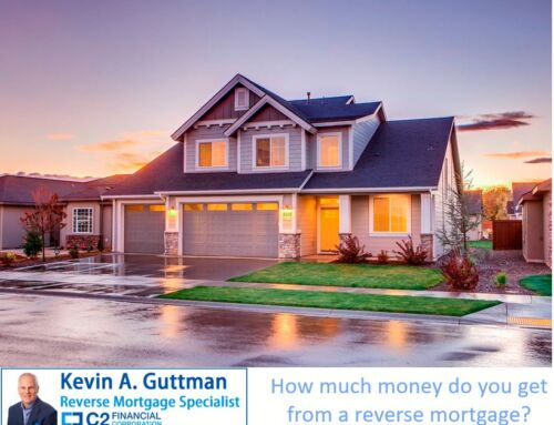 How much money do you get from a reverse mortgage?