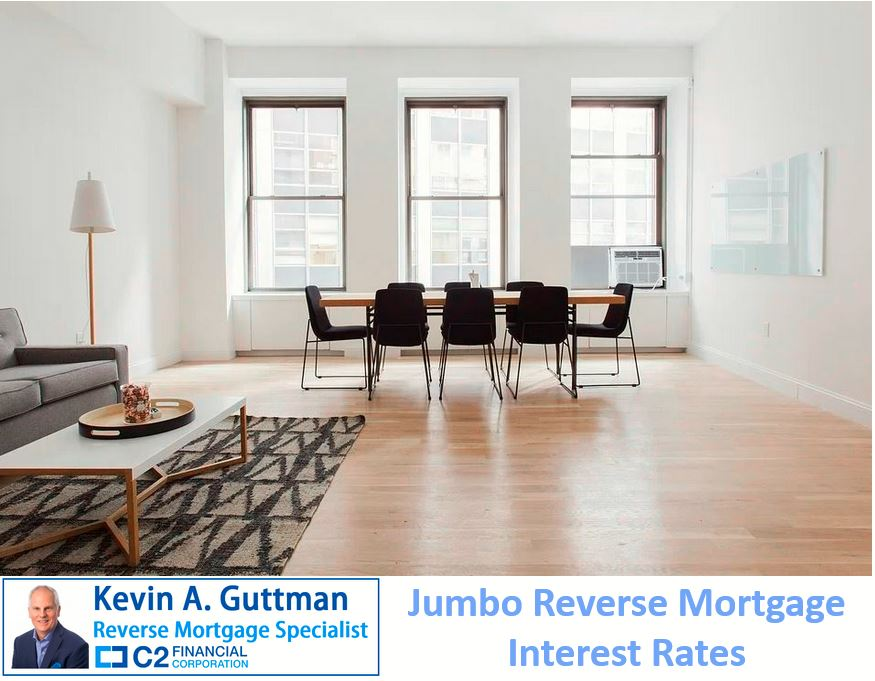 Jumbo reverse mortgage interest rates